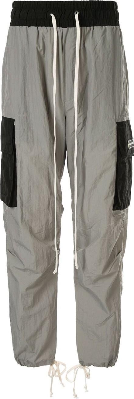 Daniel Patrick Two-tone cargo trousers