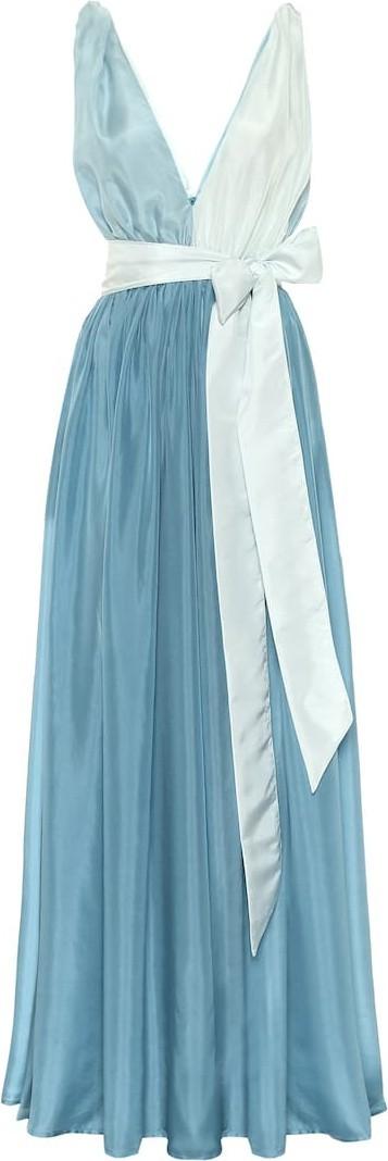 Kalita Adonis silk maxi dress