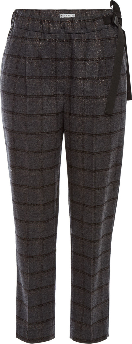 Brunello Cucinelli Printed Wool Pants