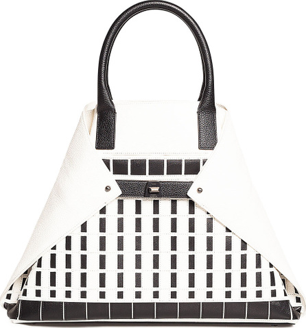 Akris Ai Medium Hotel Facade Top-Handle Bag