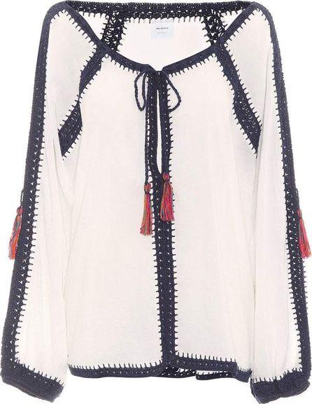 Anna Kosturova Sailor cotton top