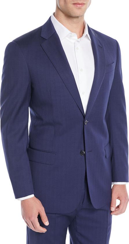 Emporio Armani Men's Two-Piece Wool Broken-Sharkskin Suit