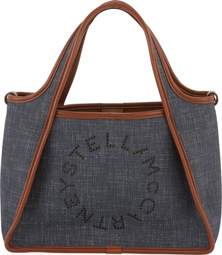 Stella McCartney Denim Logo Crossbody Bag
