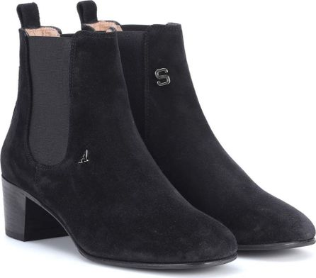 Acne Studios Hely suede ankle boots