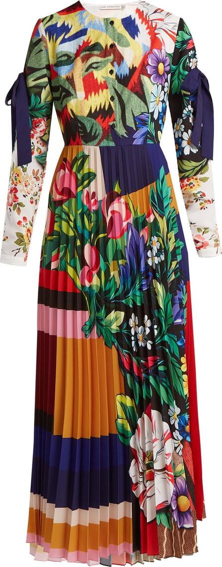 Mary Katrantzou Desmine floral-printed crepe dress