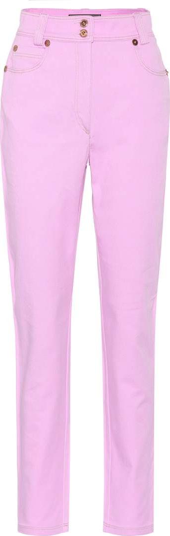 Versace Very Versace high-waisted jeans