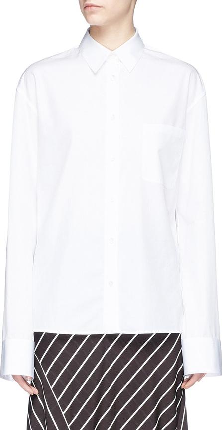 Haider Ackermann Strap poplin shirt