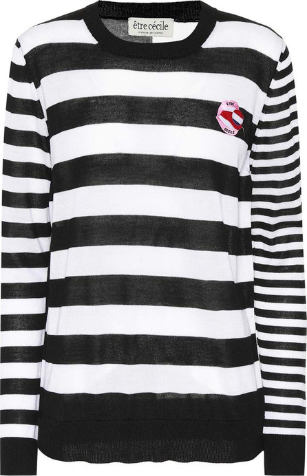 Etre Cecile Boyfriend striped wool sweater