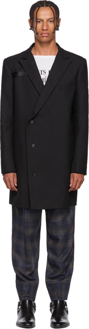 Enfants Riches Deprimes Black Long Coat