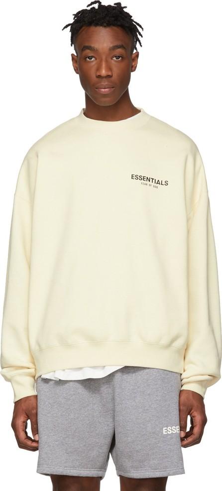 Essentials Off-White Pullover Crewneck Sweatshirt
