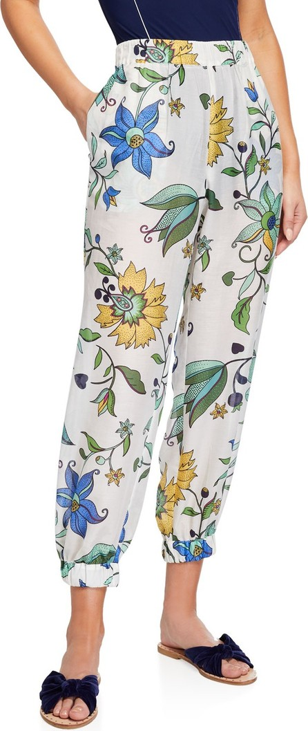 Tory Burch Printed Beach Jogger Pants