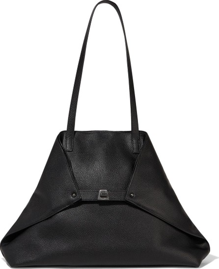 Akris Ai medium textured-leather shoulder bag