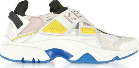 KENZO Pink Sonic Velcro sneakers