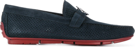Roberto Cavalli Perforated loafers