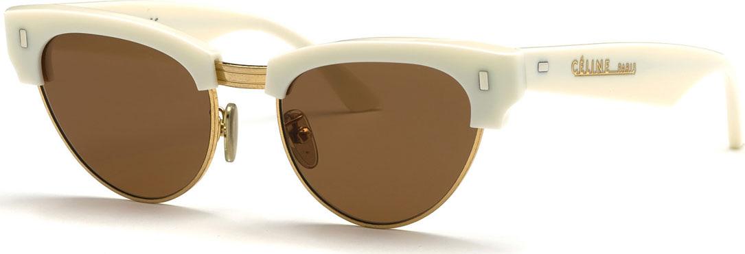 2b3632cac71 Celine Metal   Acetate Cat-Eye Sunglasses - Mkt