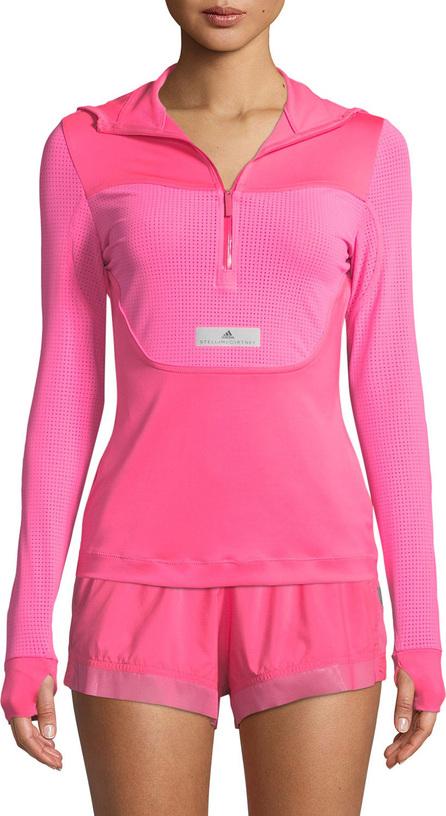 Adidas By Stella McCartney Run Hooded Long-Sleeve Performance Top