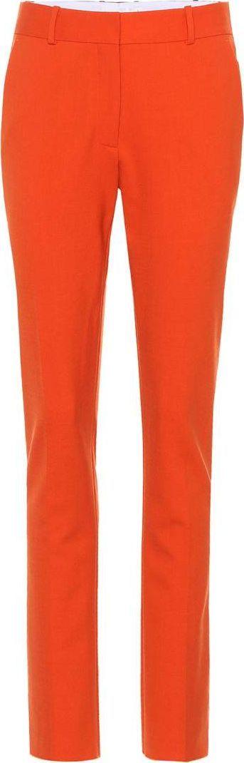 Victoria Beckham Wool-blend slim-fit trousers