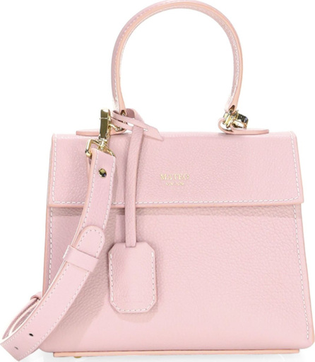 MATEO NEW YORK The Elizabeth Mini Leather Satchel