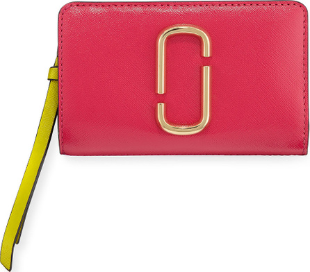 MARC JACOBS Compact Colorblock Leather Wallet
