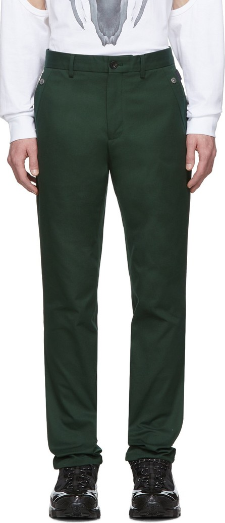 Burberry London England Green Classic Trousers