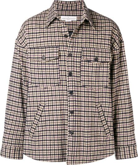 Golden Goose Deluxe Brand Plaid shirt jacket