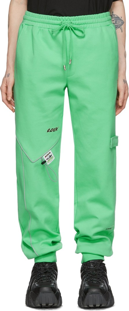 ADER error Green Piping Incision Lounge Pants