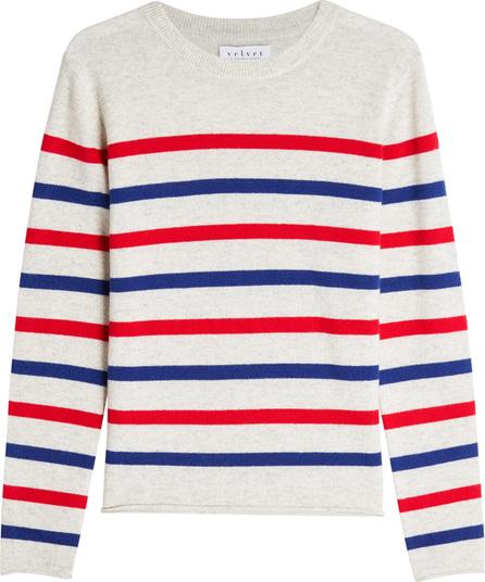 Jorge Striped Cashmere Pullover