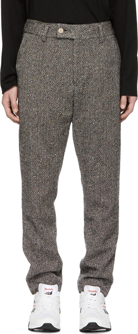 Aimé Leon Dore Grey Wool Tweed Donegal Trousers