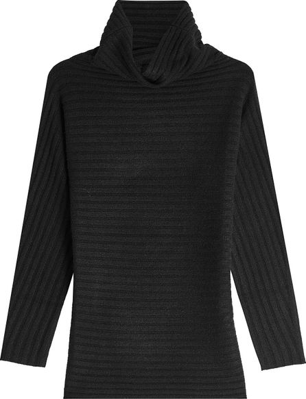 Max Mara Ribbed Cashmere Turtleneck Pullover