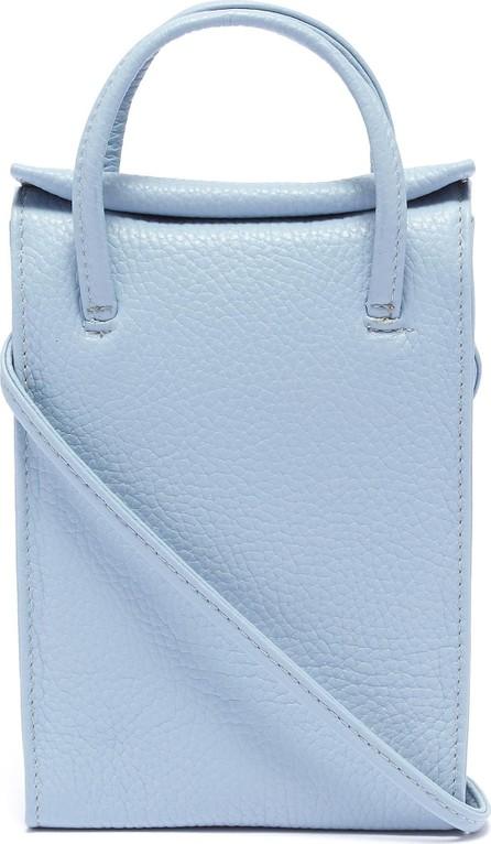 A-Esque 'Slim Box' mini leather crossbody tote
