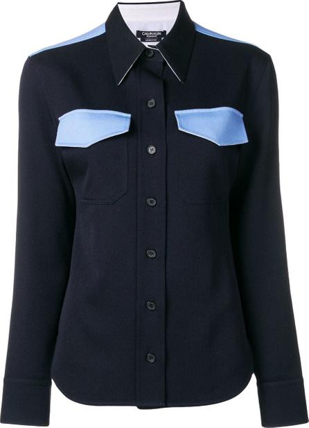 Calvin Klein 205W39NYC Western contrast shirt