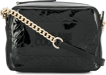Versace Jeans Couture Embroidered logo crossbody bag