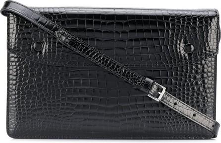 Maison Margiela Crocodile effect shoulder bag