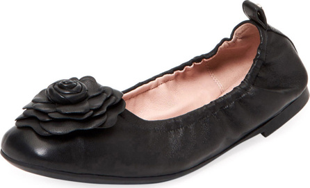 Taryn Rose Rosalyn Leather Ballet Flats