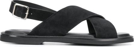 Alexander McQueen Crossover flat sandals