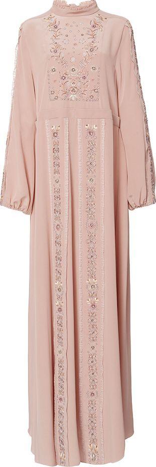 ROCHAS Long Sleeve Gown