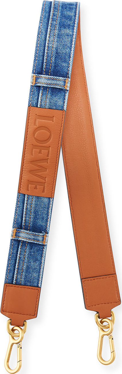 LOEWE Denim Shoulder Strap for Handbag