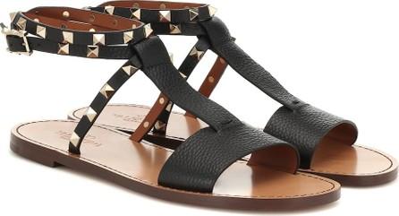 Valentino Valentino Garavani Rockstud Double leather sandals