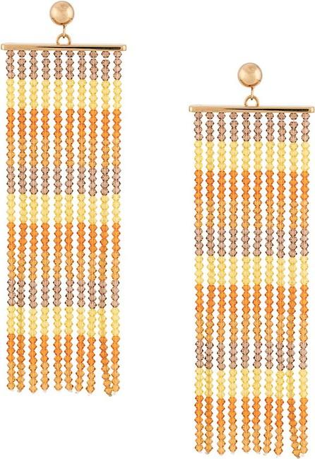 Jacquemus Beaded fringe earrings