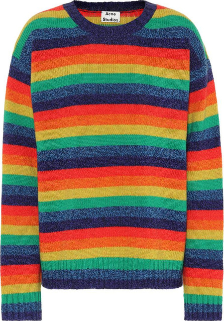 Acne Studios Samara striped wool sweater
