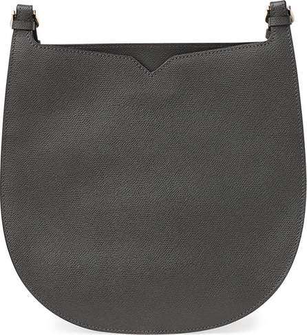 Valextra Textured Small Hobo Bag