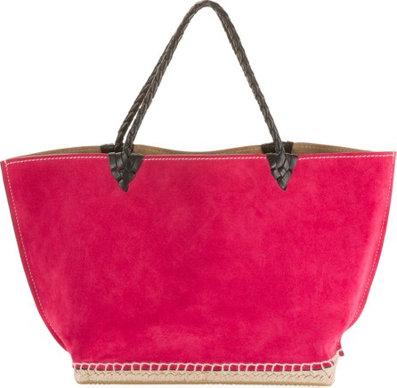 Altuzarra Small Espadrille Tote Bag, Dark Pink