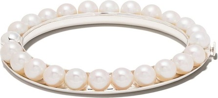 Yoko London 18kt white gold Freshwater pearl bracelet