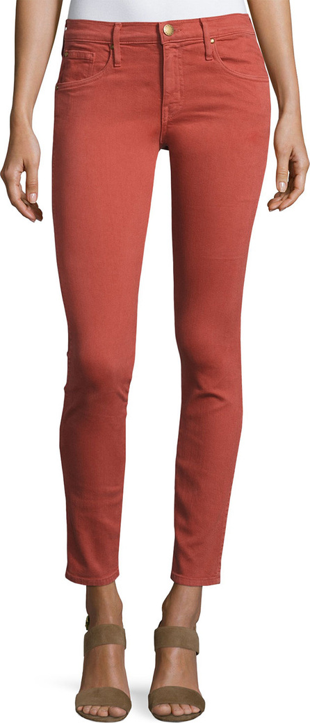 THE GREAT. The Skinny Skinny Denim Jeans, Red