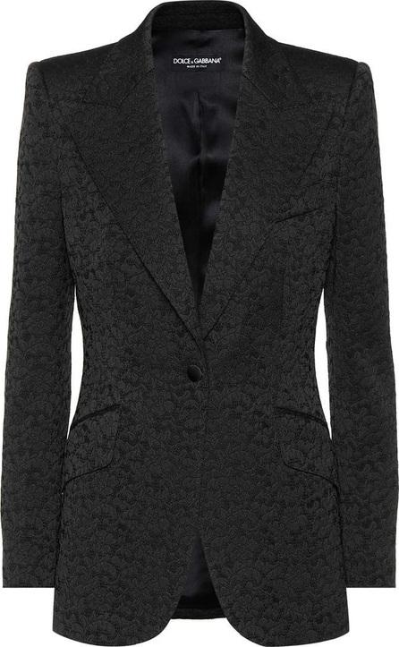 Dolce & Gabbana Floral lace jacquard blazer