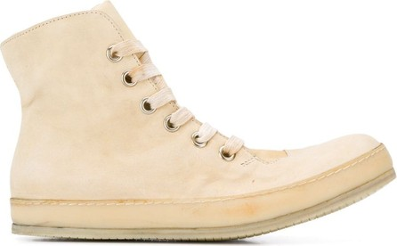 A Diciannoveventitre Distressed high-top sneakers