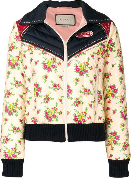 Gucci Floral print jacket