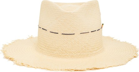 Nick Fouquet Little Havana Embroidered Straw Hat