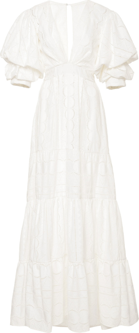 Johanna Ortiz M'O Exclusive Mademoiselle Sophie Cotton Eyelet Dress