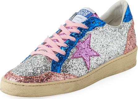Golden Goose Deluxe Brand Superstar Low-Top Glitter Sneaker